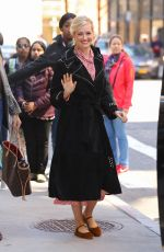 Beth Behrs Out in NYC
