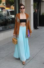 Blanca Blanco Getting ready for Coachella with some retail therapy