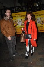 Bonnie Langford At 9 to 5 Theater Production at The Savoy Theatre in London