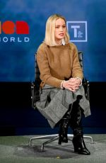 Brie Larson At 10th Anniversary Women In The World Summit in NYC