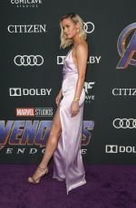 Brie Larson At World Premiere of Marval Studios