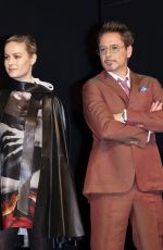 """Brie Larson Attends """"Avengers: Endgame"""" Press Conference at Four Seasons Hotel in Seoul, South Korea"""