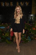 Caroline Flack At The Ivy Manchester Roof Top Re Launching A Circus Party in Manchester