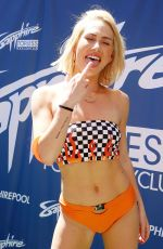 Carter Cruise At Sapphire Pool & Day Club opening weekend celebration in Las Vegas