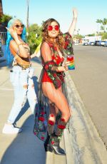 Chanel West Coast During Coachella Festival in Indio