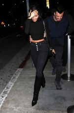 Chantel Jeffries At TAO restaurant in Hollywood