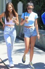 Chantel Jeffries Out with friends in Los Angeles