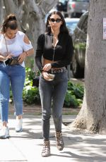 Chantel Jeffries Rubbing her tummy in West Hollywood