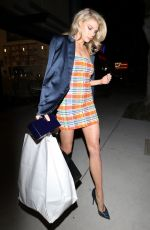 Charlotte McKinney Arrives at the Grand Opening of Starring Salon By Ted Gibson in Los Angeles