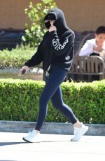 Chloe Grace Moretz Goes incognito for a shopping trip at Gelson