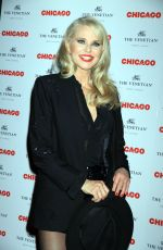 Christie Brinkley At Opening Night in Cnicago held at The Venetian Theater in Las Vegas