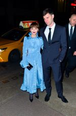 Christina Ricci and James Heerdegen stun as they arrive to Marc Jacobs