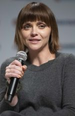 Christina Ricci At Calgary Comic & Entertainment Expo in Calgary Canada