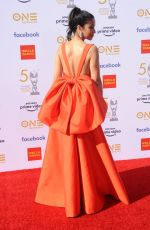 Chrystee Pharris At 50th Annual NAACP Image Awards, Dolby Theatre, Los Angeles