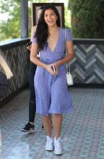 Cindy Kimberly At lunch with friends on the Sunset Strip at Tocaya in West Hollywood