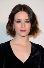 Claire Foy At Clash De Cartier Photocall at La Conciergerie in Paris, France
