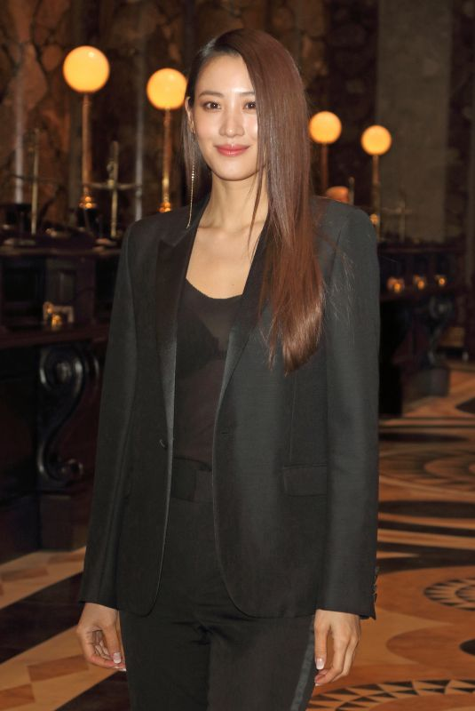 Claudia Kim At Launch event for the Original Gringotts Wizarding Bank at Warner Bros. Studio Tour in Watford
