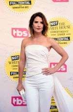 "Cobie Smulders At ""Full Frontal With Samantha Bee"" Not The WHCD in Washington"