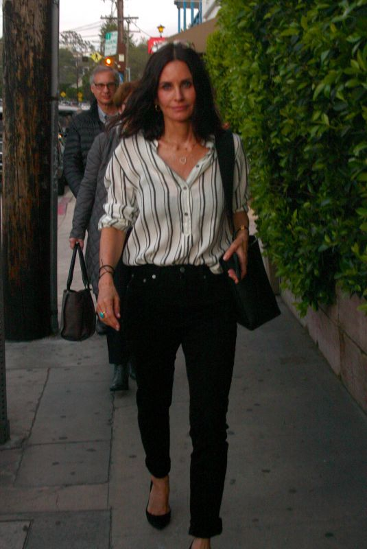 Courteney Cox Out in Santa Monica