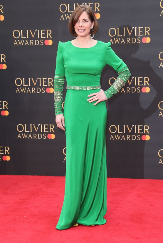 Darcey Bussell Attending The Olivier Awards 2019 at The Albert Hall in London