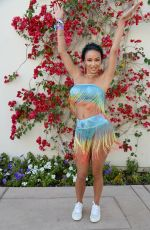 Draya Michele At REVOLVEfestival Day2 - 2019 Coachella Valley Music and Arts Festival