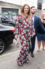 Drew Barrymore Arriving at her Flower Beauty Event in Sydney