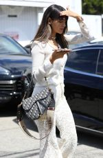 Eiza González Leaving a hair salon in LA