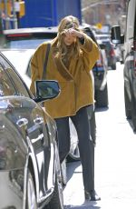 Elizabeth Olsen Leaving her hotel in NYC