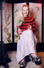 Elle Fanning - Miu Miu Twist Shanghai Promos, March 2019