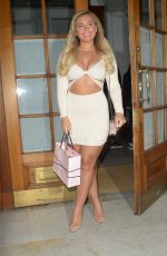 Ellie Brown At MISS SO Fragrance Launch, London