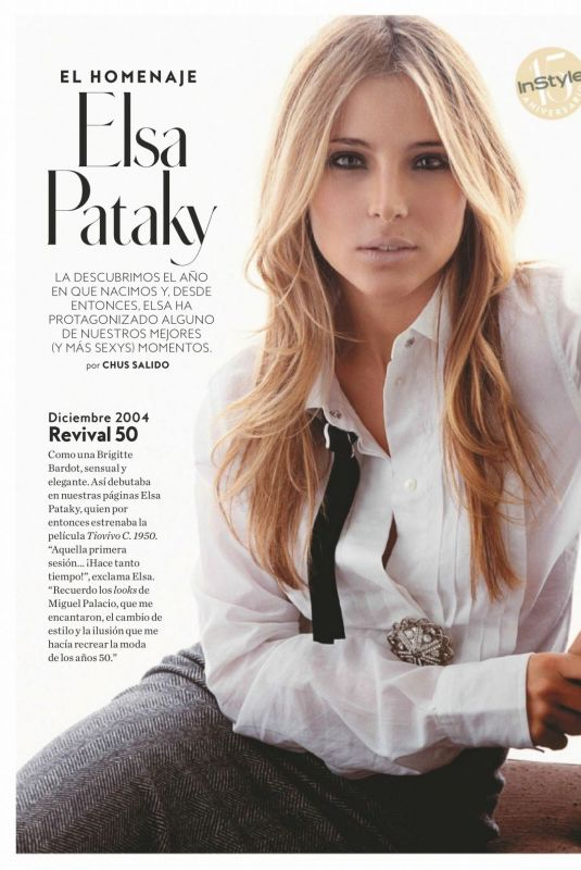Elsa Pataky - Instyle Magazine Spain, May 2019