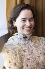 Emilia Clarke At game of thrones press conference in NY