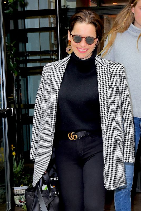 Emilia Clarke Out in NYC