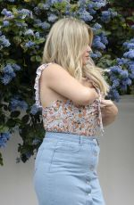 Emily Atack At In The Style Photoshoot in London