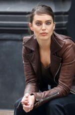 Emily DiDonato On the set of a Maybelline photoshoot in NYC