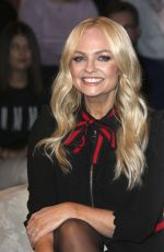 Emma Bunton At Markus Lanz Late Show in Hamburg