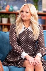 Emma Bunton On This Morning TV Show in London