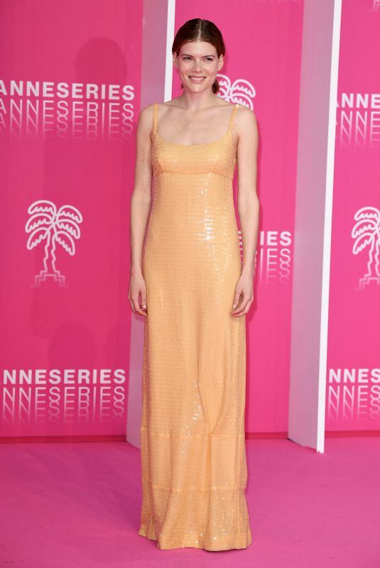 Emma Greenwell At Day four of the 2nd Canneseries International Series Festival in Cannes, France