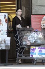 Emma Roberts Grocery shopping at Gelsons in LA