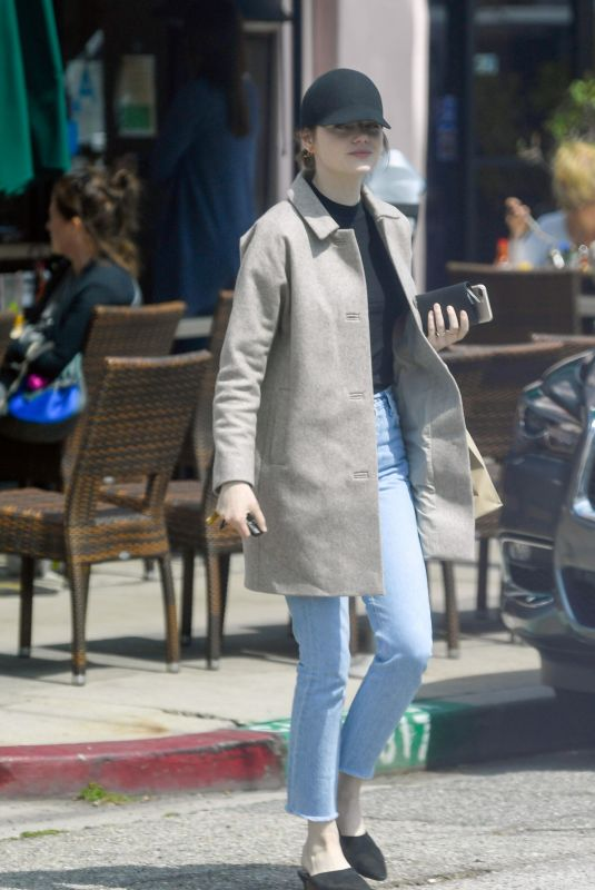 Emma Stone Out and about in LA