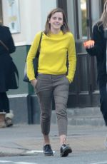 Emma Watson Out for lunch in London