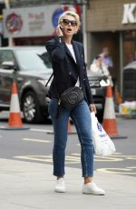 Emma Willis Out Shopping in Central London