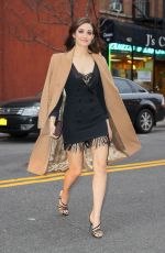 Emmy Rossum Out and about in New York