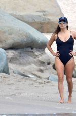Eva Longoria Spend Easter holiday at the Shellona Beach in St Barts