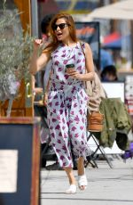 Eva Mendes Out for coffee in Santa Monica