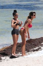 Farrah Abraham In a teeny thong bikini while enjoying some time in Tulum in Mexico