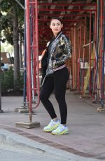 Francia Raisa Out in Los Angeles