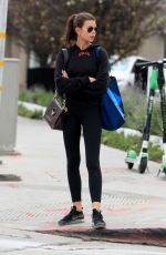 Georgia Fowler Showcases her street style while out in West Hollywood