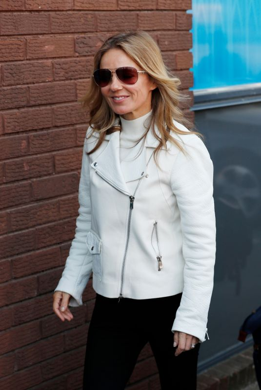 Geri Halliwell At a recording studio in London