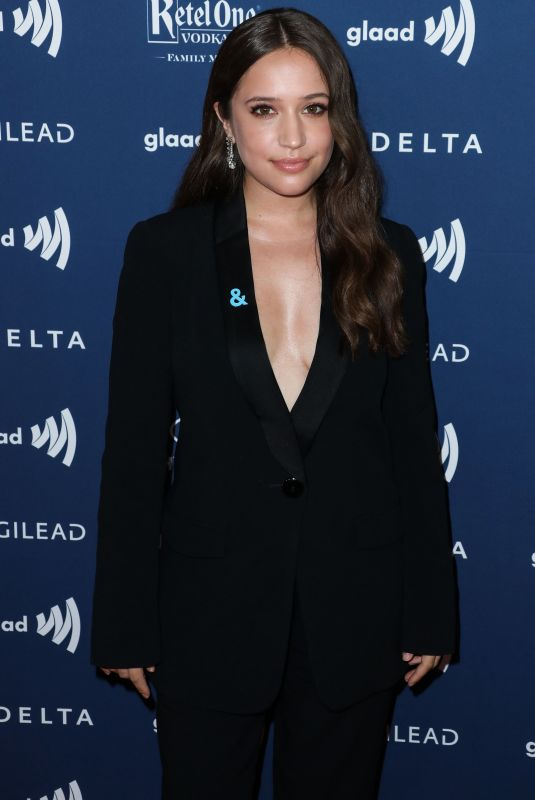 Gideon Adlon At 30th Annual GLAAD Media Awards in Beverly Hills